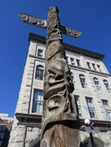Totem pole at Byward Market