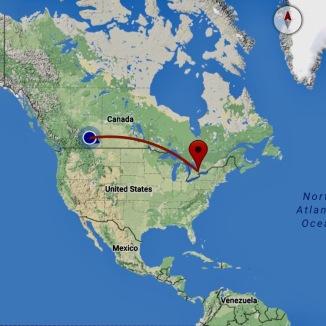 Calgary to Toronto