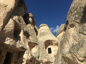 Cave cities at Goreme